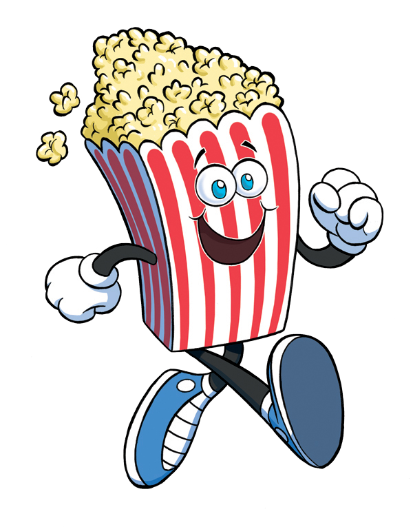 how to draw realistic popcorn